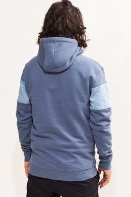 Толстовка TRUESPIN Wide Stripes Hoodie #3 Blue Shadow/Bering Sea фото 2