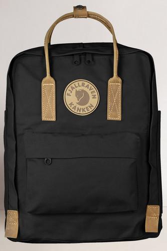 Рюкзак FJALLRAVEN Kanken №2 (Black-550) цена