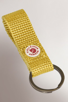 Ключница FJALLRAVEN Kanken Keyring Warm Yellow 141 фото