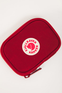 Визитница FJALLRAVEN Kanken Card Wallet Ox Red 326 фото