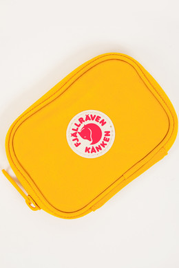 Визитница FJALLRAVEN Kanken Card Wallet Warm Yellow 141 фото