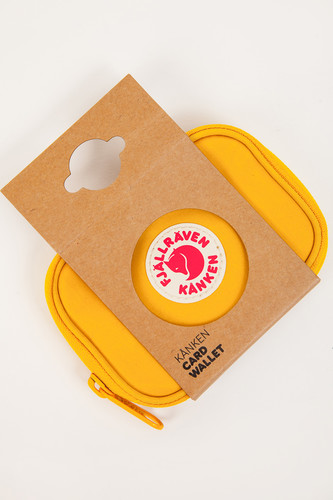 Визитница FJALLRAVEN Kanken Card Wallet Warm Yellow 141 фото 8