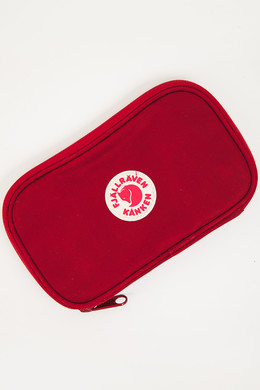 Кошелек FJALLRAVEN Kanken Travel Wallet Ox Red 326 фото