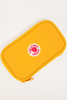 Кошелек FJALLRAVEN Kanken Travel Wallet Warm Yellow 141 фото