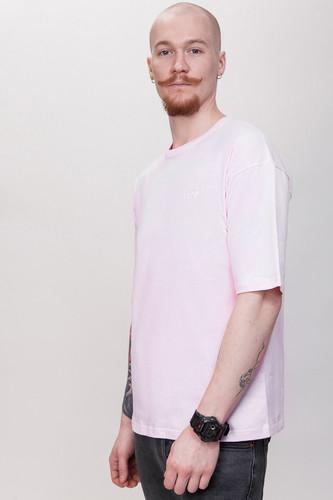 Футболка ЗАРЯ Оверсайз T18 (Розовый, M)