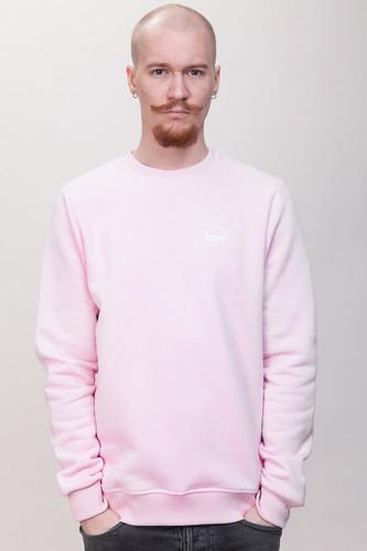 Толстовка ЗАРЯ Лого SW3 (Розовый, L) джоггеры заря фетт jg11 экрю лого l