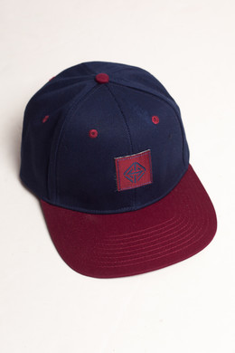Бейсболка TRUESPIN Next Lavel 2 Tones Navy/Bordeaux фото
