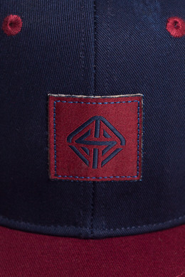 Бейсболка TRUESPIN Next Lavel 2 Tones Navy/Bordeaux фото 2