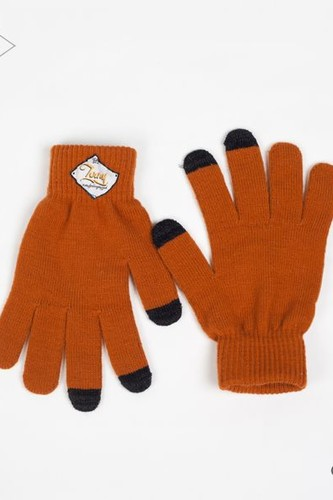 Перчатки TODAY Touch Screen Gloves (Brown, O/S)