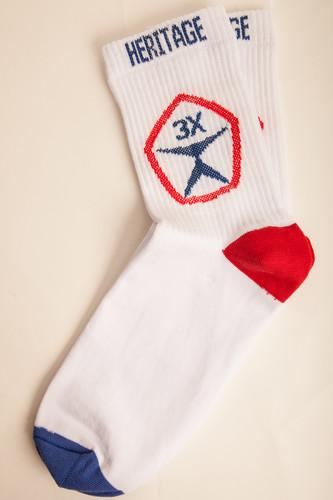 Носки ЗАПОРОЖЕЦ HERITAGE Большой Знак (Белый, O/S) носки запорожец heritage большой знак женские черный o s
