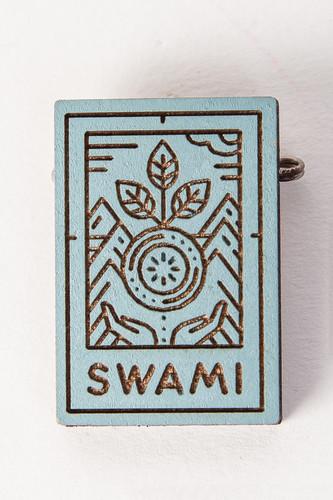 Значок SWAMI Logo (Blue) значок swami clouds blue purple