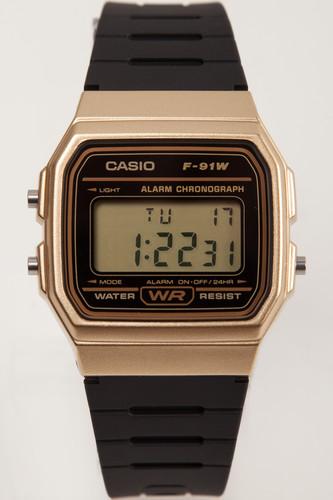 Часы CASIO F-91WM-9A 587 (Золотой)