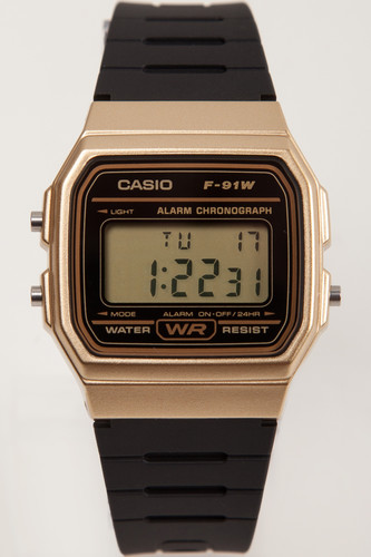 Часы CASIO F-91WM-9A 587 (Золотой)