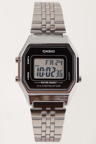 Часы CASIO LA680WEA-1E 3284 (Хром) часы casio la680wega 1e 3284 золотой