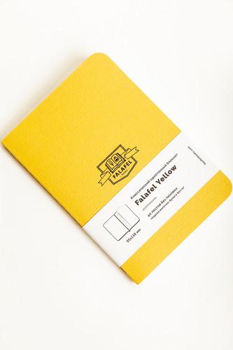 Блокнот FALAFEL BOOKS А6S (Yellow, 479680)