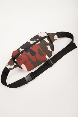 Сумка URBAN CLASSICS Hip Bag 2-Pack Black/Rustycamo фото 2