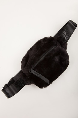 Сумка URBAN CLASSICS Teddy Mini Beltbag Black фото
