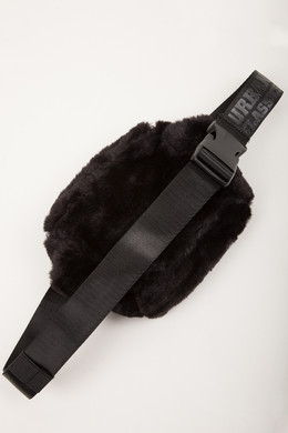 Сумка URBAN CLASSICS Teddy Mini Beltbag Black фото 2
