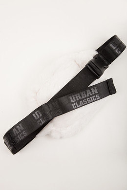 Сумка URBAN CLASSICS Teddy Mini Beltbag Off White фото 2
