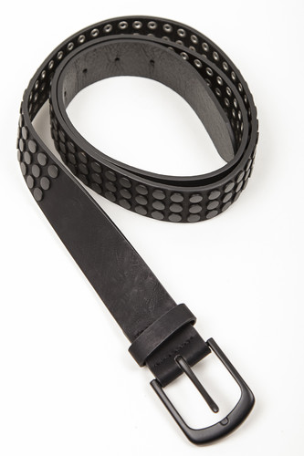 Ремень URBAN CLASSICS Rivet Belt (Black, 120 см)