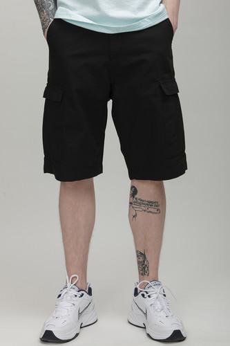купить Шорты URBAN CLASSICS Camouflage Cargo Shorts (Black, 30) по цене 675 рублей