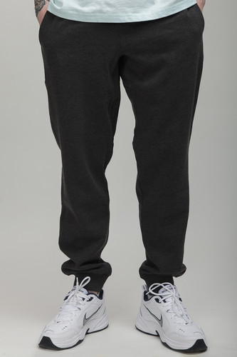 Брюки URBAN CLASSICS Basic Sweatpants Charcoal фото 5
