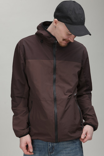 Ветровка SKILLS Delta Fully Zipped 2.0 Dk Brown/Brown фото 9