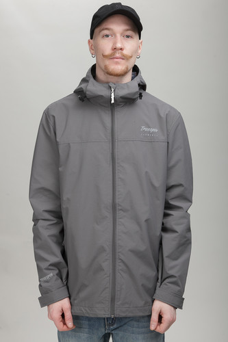 Куртка TRUESPIN Rain Jacket Dark Grey фото 9