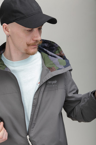 Куртка TRUESPIN Rain Jacket Dark Grey фото 11