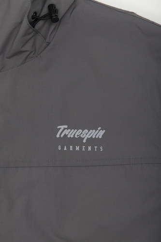 Куртка TRUESPIN Rain Jacket Dark Grey фото 14