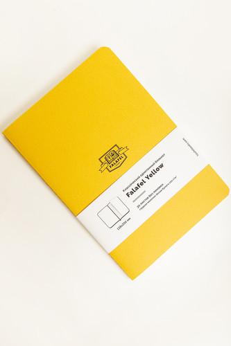 Блокнот FALAFEL BOOKS А5S (Yellow, 479686)
