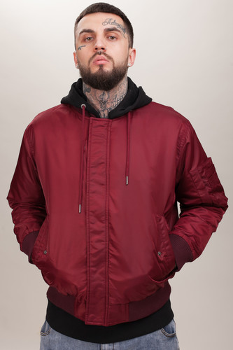 Куртка MISHKA Printed Jacket MAW180650M78 (Wine Red, XL)