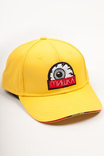 Бейсболка MISHKA Printed Cap MAW183201F52 (Lemon, O/S)