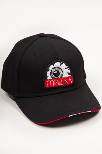 Бейсболка MISHKA Printed Cap MAW183201F99 (Black, O/S)