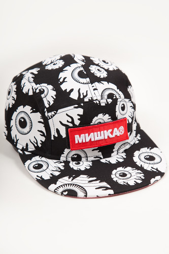 Бейсболка MISHKA Printed Cap MAW183209F00 (Multicolor, O/S)
