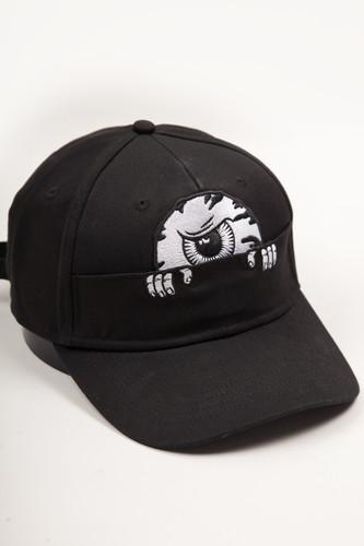 Бейсболка MISHKA Emb Cap MAW183229F99 (Black, O/S)