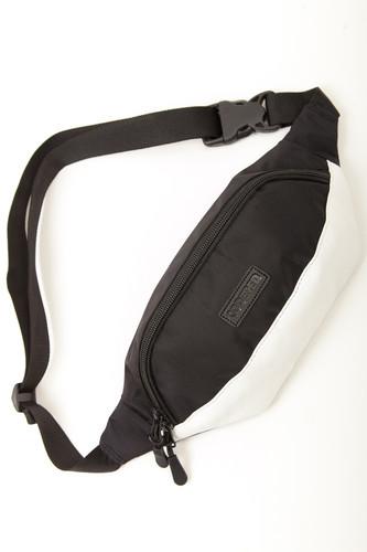 Сумка CODERED Hip Bag (Черный Таслан/Белый Кожзам) сумка codered code a5 для документов фиолетовый таслан