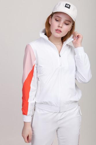 Олимпийка CODERED Olymp Lady (Белый/Бледно-Розовый/Лососевый, XS)