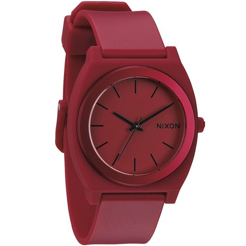 Часы NIXON TIME TELLER P ANO (DARK RED)