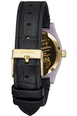 Часы NIXON MEDIUM TIME TELLER LEATHER Magenta/Mix фото 2