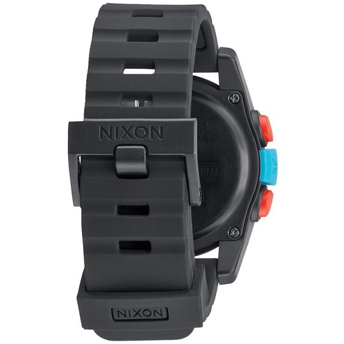 Часы NIXON Unit Black/Blue/Chartreuse фото 4