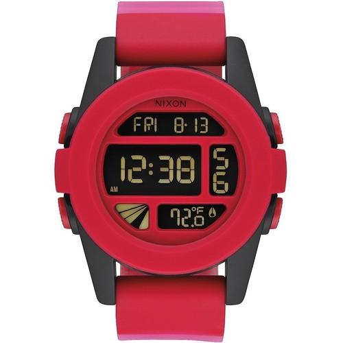 Часы NIXON Unit (RED FADE)