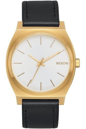 Часы NIXON Time Teller (Gold/White Sunray/Black) кварцевые часы женские nixon bullet gold lavender