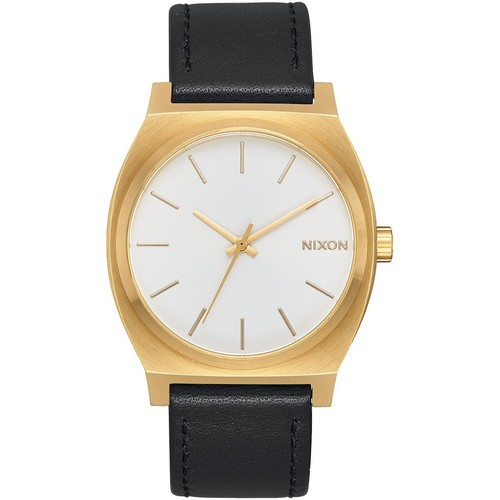 Часы NIXON Time Teller (Gold/White Sunray/Black) часы nixon sentry ss blue sunray