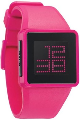 Часы NIXON Newton Digital Pink фото