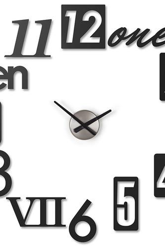 Часы настенные numbra черные (Черный) umbra настенные часы 35 см numbra 118430 040