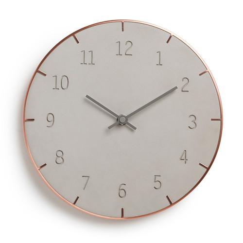 Часы настенные piatto (Медный)