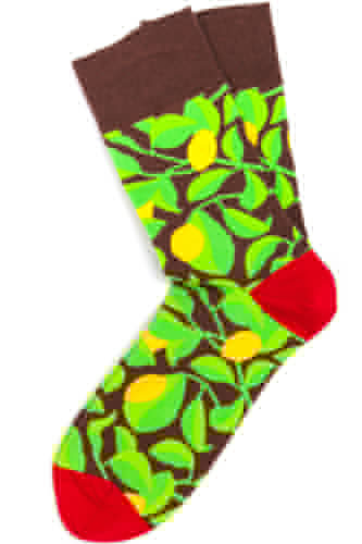 Носки BURNING HILLS Лимоны (Зеленый, 42-45) brightly burning