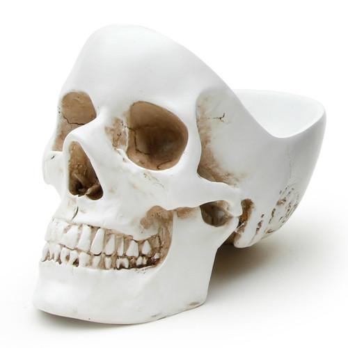 Органайзер для мелочей skull, белый (Белый)