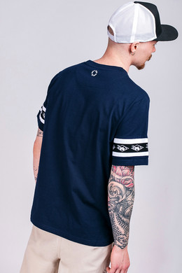 Футболка UNFAIR ATHLETICS Big Hash T-Shirt Navy фото 2